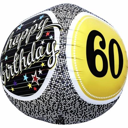 60th Birthday Milestone Sphere