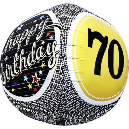 70th Birthday Milestone Sphere