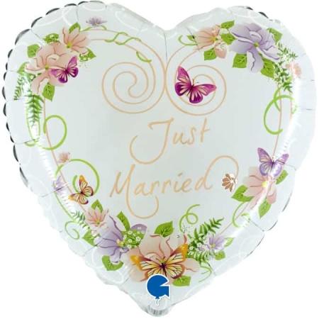 71010 H21 Heart Flowers