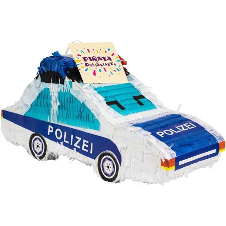 Piñata Polizeiauto