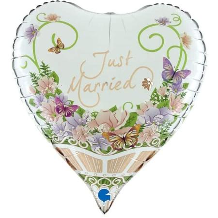 73010 Heart Flower Bouquet 3D