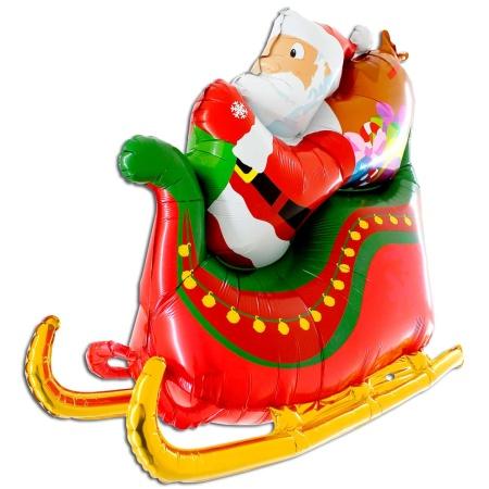 73030 Santa Sleigh 3D
