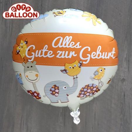 Ballon_Alles_Gute_orange