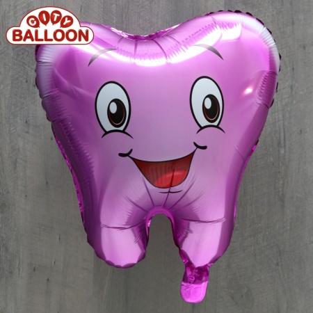 Ballon_Zahn_lila