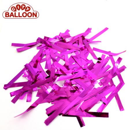 Lose rechteck foil pink