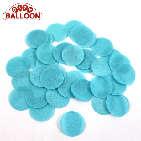 Lose rund paper nochhelleresblau