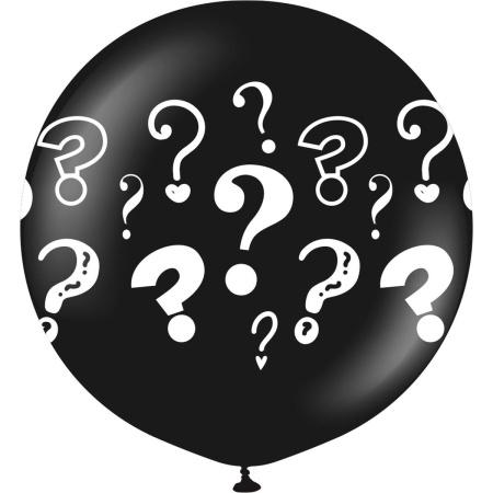Question Mark - Black - 24 inch