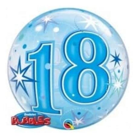 p 2 1 3 8 2138 Bubble Ballon 18 Blau