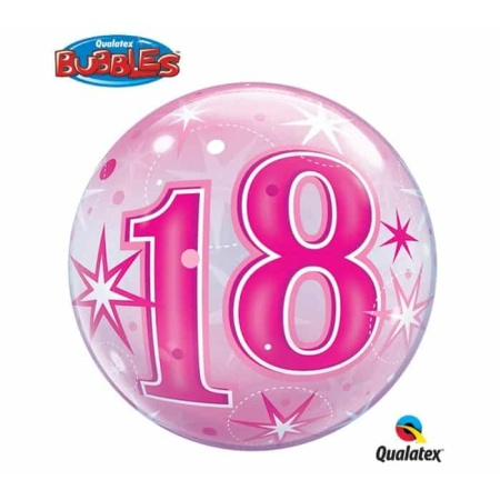 p 2 1 3 9 2139 Bubble Ballon 18 Pink