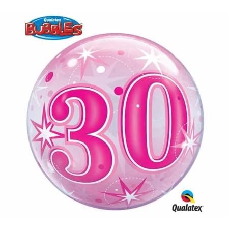 p 2 1 3 6 2136 Bubble Ballon 30 Pink