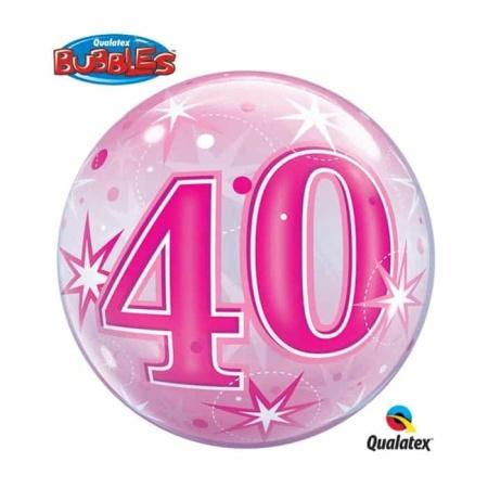 p 2 1 3 5 2135 Bubble Ballon 40 Pink
