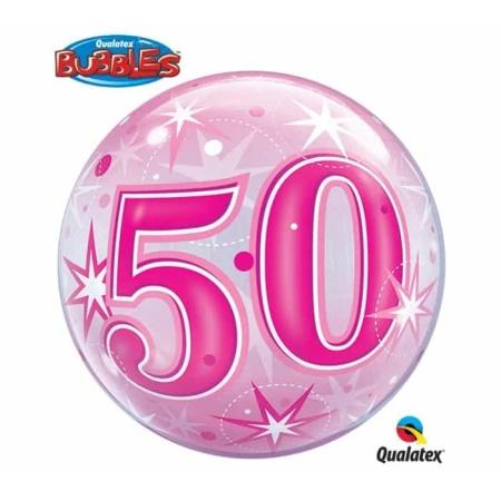 p 2 1 3 2 2132 Bubble Ballon 50 Pink