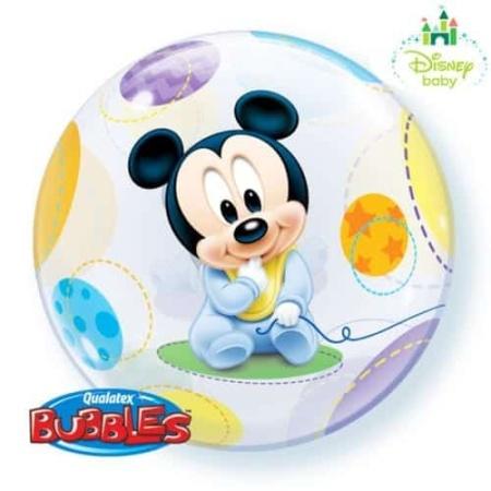 p 2 1 4 1 2141 Bubble Ballon Baby Mickey