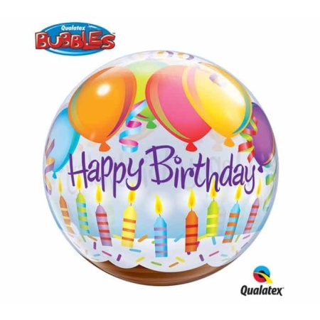 p 2 1 4 3 2143 Bubble Ballon Happy Birthday