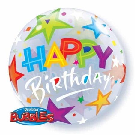 p 1 3 2 4 1324 Bubble Ballon Happy Birthday Sterchen 22