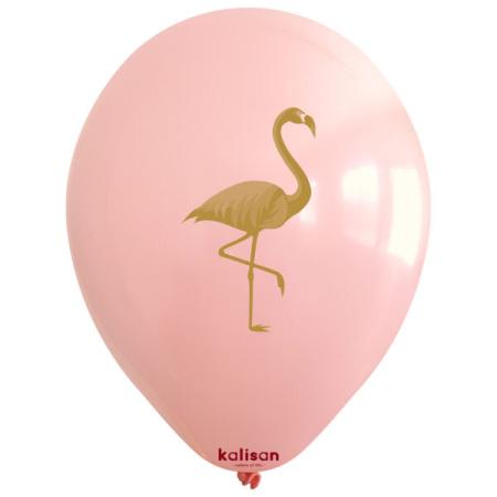 flamingo printed 12inc