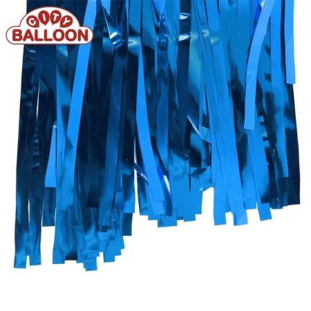 foil curtain 1x2 blau