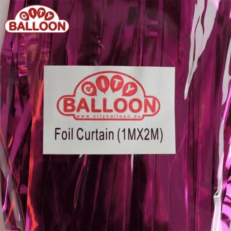 foil curtain 1x2 lila verpackt