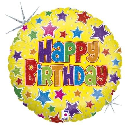 """Happy Birthday 18""""/45cm"""
