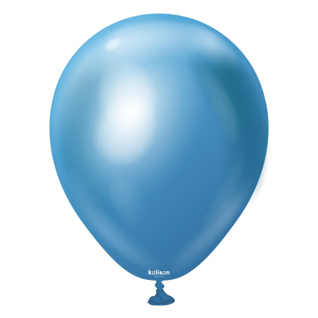 latexballon blue mirror 5 inc