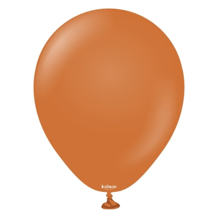 latexballon caramel brown 5inc