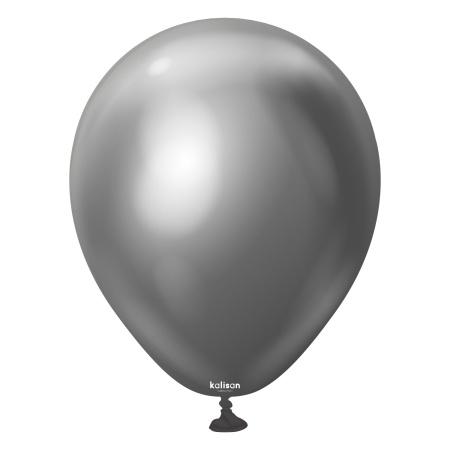 latexballon space grey mirror 5inc