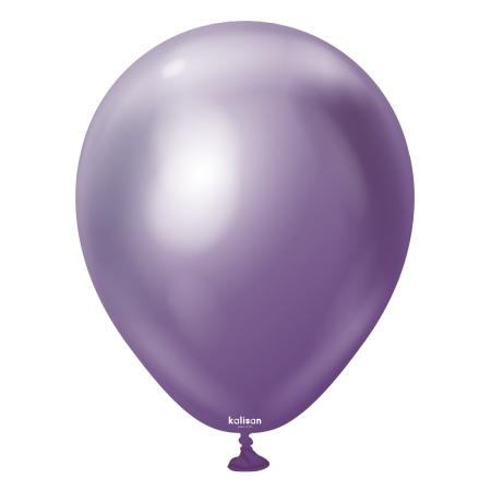 latexballon violet mirror 5 inc