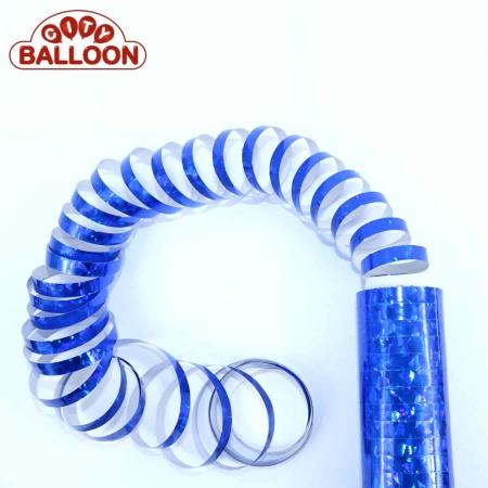 Luftschlangen blau lose