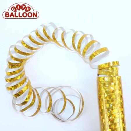 Luftschlangen gold lose