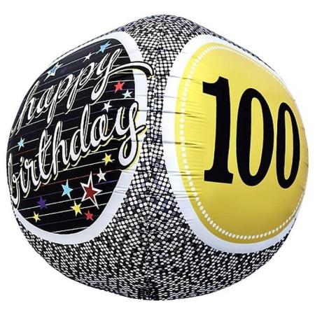 100th Birthday Milestone Sphere