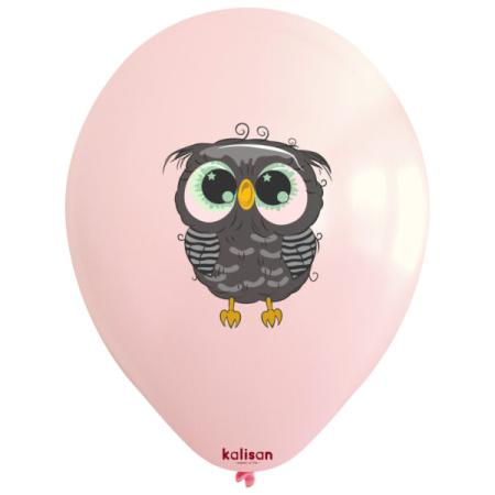 owl printed 12inc