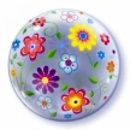 p 1 2 8 4 1284 Bubble Ballon Bluemchen