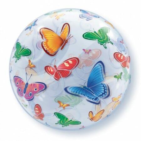 p 1 2 8 5 1285 Bubble Ballon Schmetterlinge