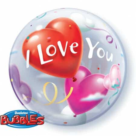 p 1 2 8 7 1287 Bubble Ballon I Love You 22