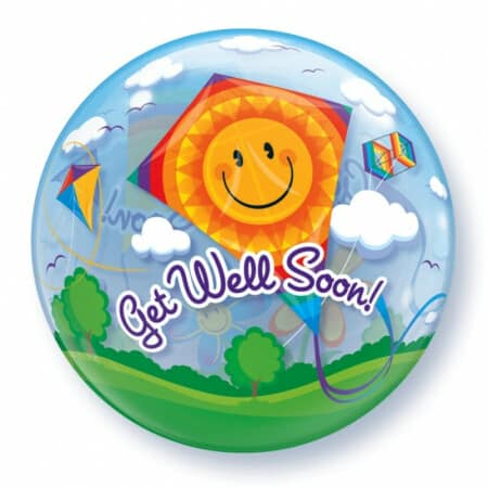 p 1 2 8 9 1289 Bubble Ballon Get well soon