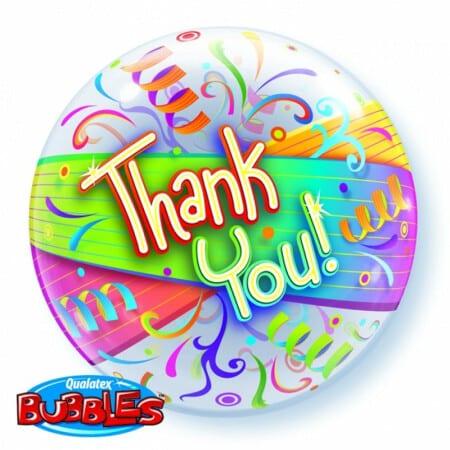 p 1 3 3 2 1332 Bubble Ballon Thank you 22