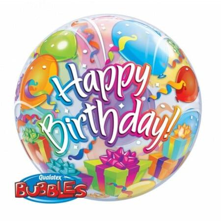 p 1 3 3 6 1336 Bubble Ballon Happy Birthday bund 22