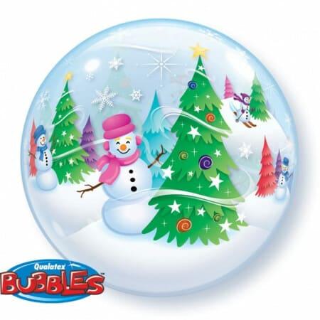 p 1 3 4 0 1340 Bubble Ballon Schneemann 22