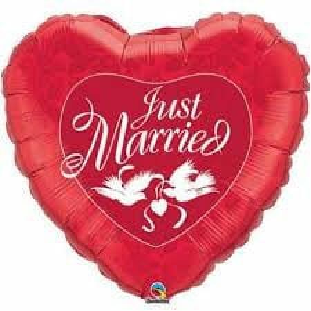 p 1 4 5 1 1451 Herz Just Married 3691cm