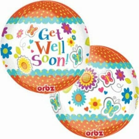 p 1 4 5 7 1457 Orbz Get Well Soon 43cmx45cm