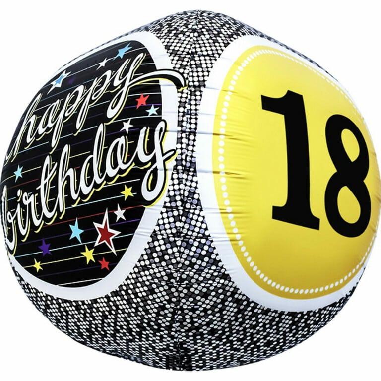 p 1 6 7 5 1675 18 Happy Birthday 1743cm