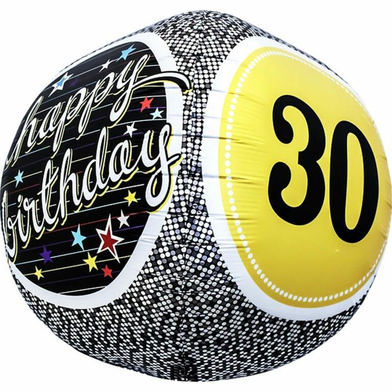 p 1 6 7 8 1678 30 Happy Birthday 1743cm