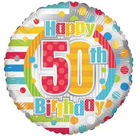 p 1 6 8 1 1681 Happy 50th Birthday 1846cm
