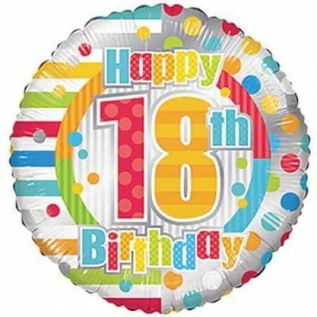 p 1 6 8 2 1682 Happy 18th Birthday 1846cm
