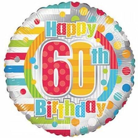p 1 6 8 4 1684 Happy 60th Birthday 1846cm