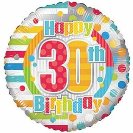 p 1 6 8 5 1685 Happy 30th Birthday 1846cm
