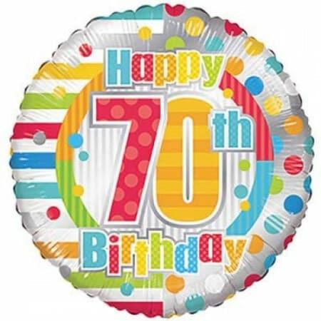p 1 6 8 6 1686 Happy 70th Birthday 1846cm
