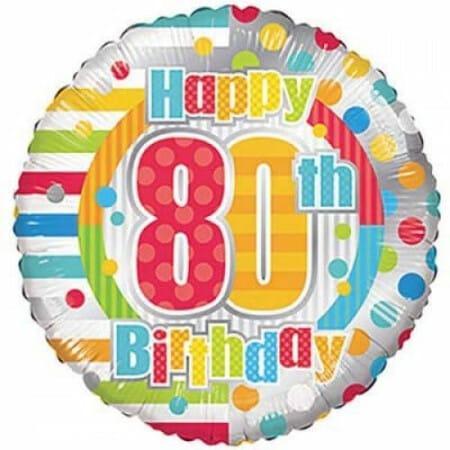p 1 6 8 8 1688 Happy 80th Birthday 1846cm