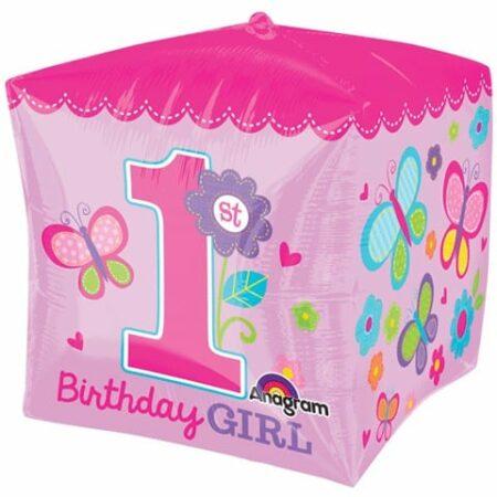 p 1 7 0 7 1707 Cubez 1st Birthday Girl 38x38cm