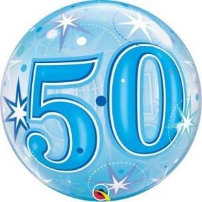 p 2 1 3 3 2133 Bubble Ballon 50 Blau